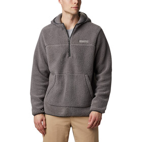 Columbia Rugged Ridge II Sherpa Pullover Hoodie Men, city grey/shark